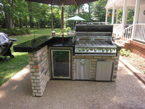 outdoor-küche-moderne-ausstattung-Origenell wirken