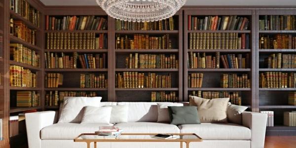 private- Haus – Bibliothek