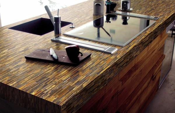quartz-arbeitsplatte-für-die-küche-super aussehend