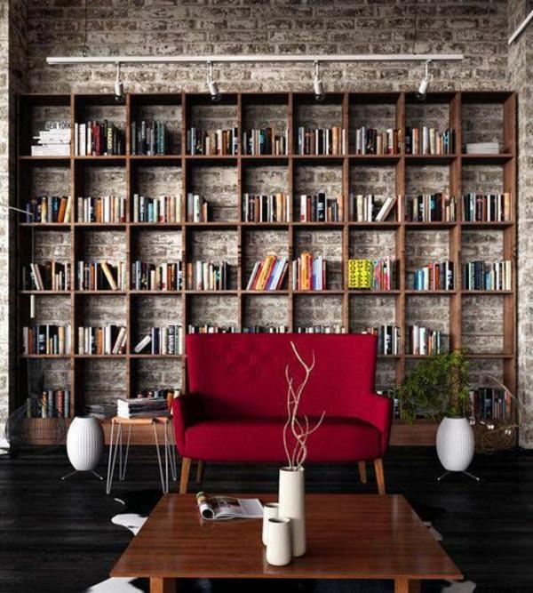 rot- Haus – Bibliothek