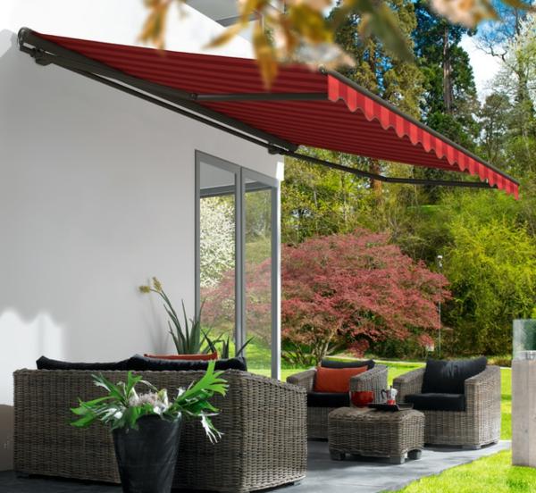 rotes-schönes-sonnensegel-für-terrasse-wunderschön wirkend
