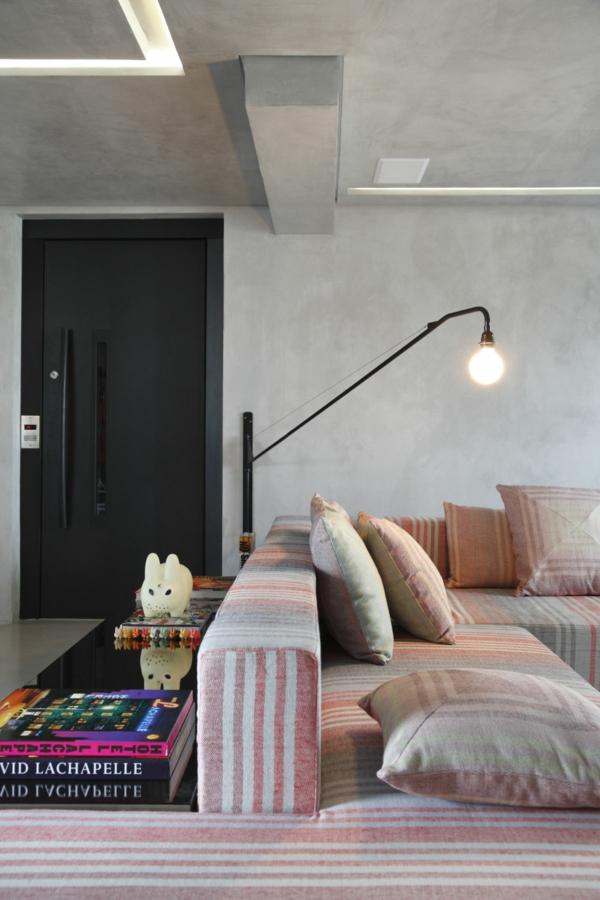 Moderne stehleselampe ein must have f r jeden lesewurm - Skulpturen fur wohnzimmer ...