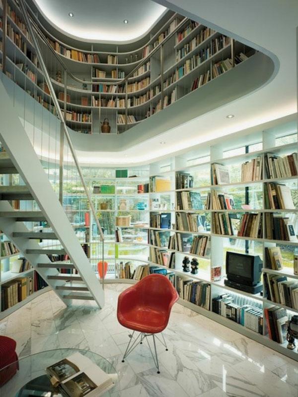 ideen bibliothek zu hause gestalten – usblife