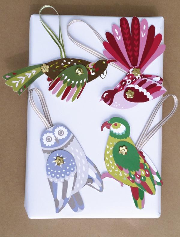 schöne-karte-zum-weihnachnten-selber-machen-vögel