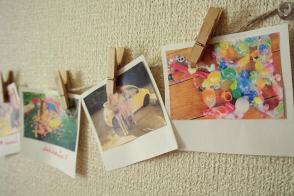 schöne-weihnachtsbastelideen-fotos- aufhängen