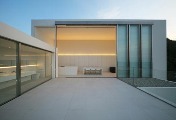 schönes-haus-minimalismus-architektur-interessante beleuchtung
