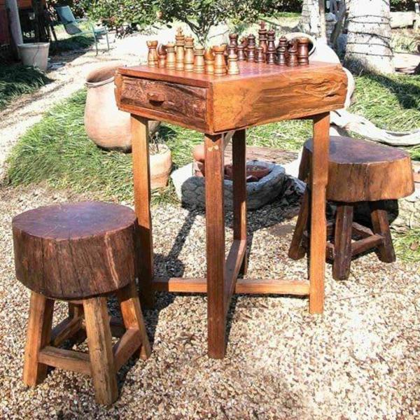 schachspiel aus holz klassik f r die freizeit. Black Bedroom Furniture Sets. Home Design Ideas