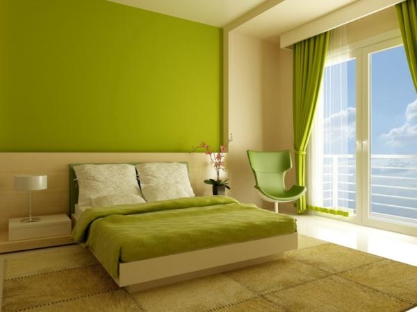 schlafzimmer-grüne-farbtöne