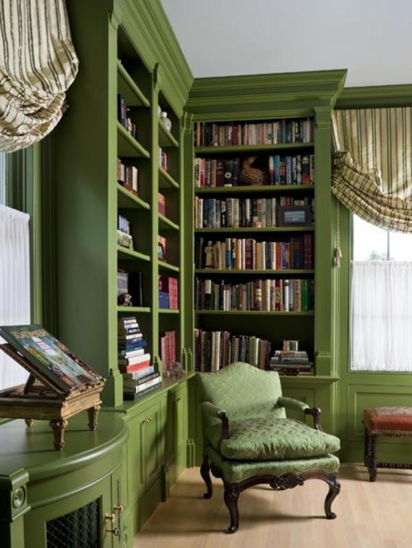 Einrichten mit Farben: Grüne Farbtöne für frische Atmosphäre ...