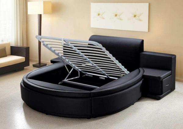 schwarzes bett gallery of schwarzes polsterbett leder bett allo breite cm liegeflche pharao. Black Bedroom Furniture Sets. Home Design Ideas