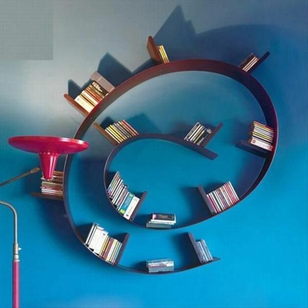 spirale-originelle-bücherregale