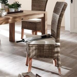 Rattanmöbel esszimmer  Korbstühle für Esszimmer: 36 tolle Designs! - Archzine.net