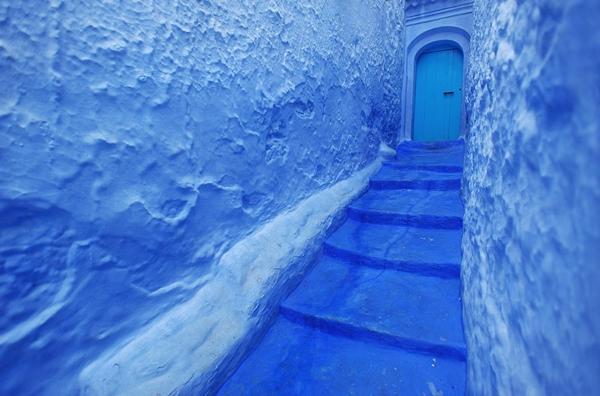 Eine ganze Stadt aus Morocco in Farbe Blau! - Archzine.net