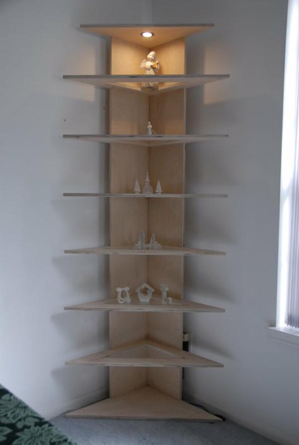 Ein Modernes Eckregal Für Ihre Wohnung Archzinenet - Eckregale wohnzimmer