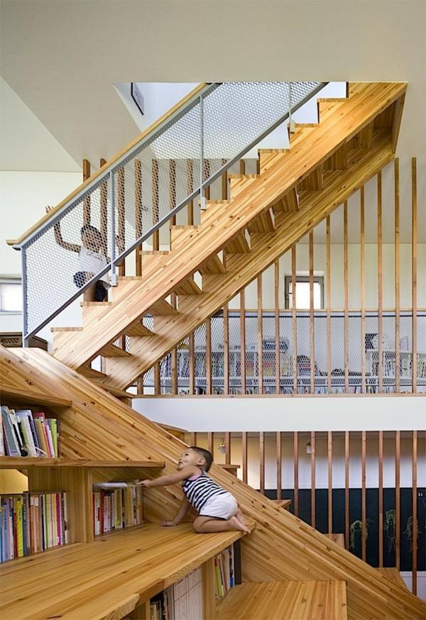 treppenhaus- Haus – Bibliothek