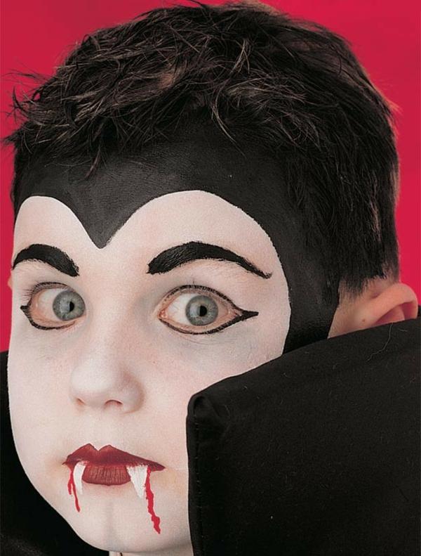 vampirgesicht schminken 29 einmalige ideen. Black Bedroom Furniture Sets. Home Design Ideas