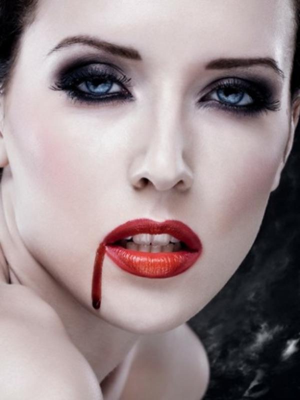 schminken vampir