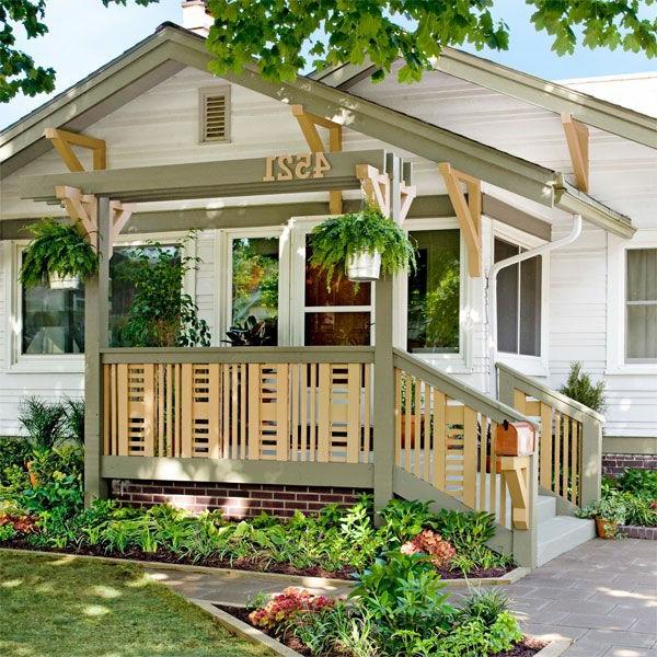 veranda-selber-bauen-schönes-haus-gemütliches aussehen