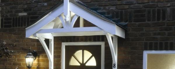 veranda-selber-bauen-weißes-dach- mehr als dekoration