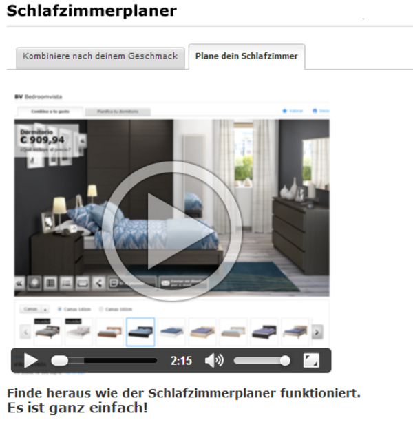 Video Ikea Schlafzimmerplaner