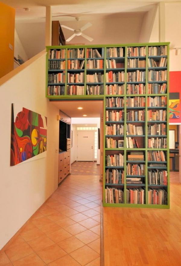 viele-bücher- Haus – Bibliothek