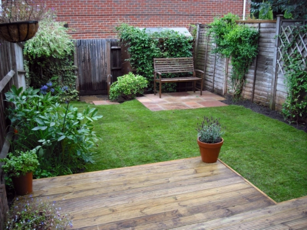 vorgartengestaltung vom reihenhaus – möglich und wie! - archzine, Gartenarbeit ideen