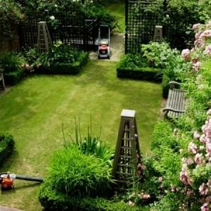 Gartenwege anlegen kreative beispiele - Vorgartengestaltung reihenhaus ...