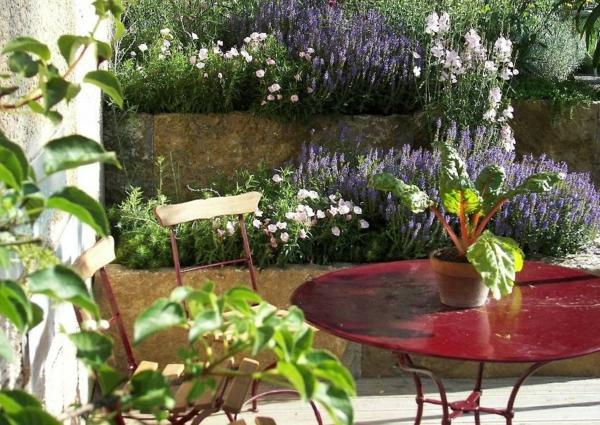 vorgartengestaltung reihenmittelhaus – rekem, Garten Ideen