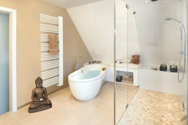 Wandfarbe Badezimmer - Wohndesign