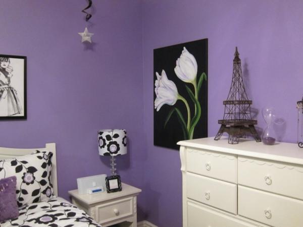wandfarbe-lila-sehr-schön-schönes bild