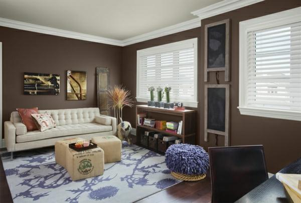 Wandfarbe mocca mit nuancen von schokoladengeschmack for Wandfarbe farben