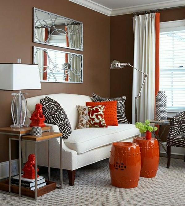Wandfarbe mocca mit nuancen von schokoladengeschmack - Wandfarbe lagune ...