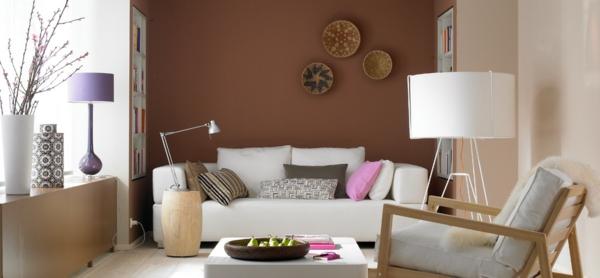 Wandfarbe Mocca mit Nuancen von Schokoladengeschmack ...