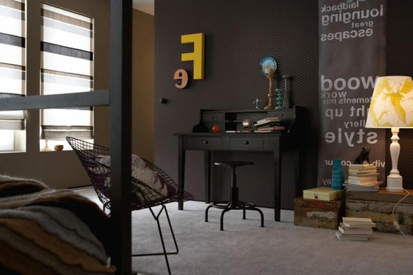 wandfarbe-mocca-wohnzimmer