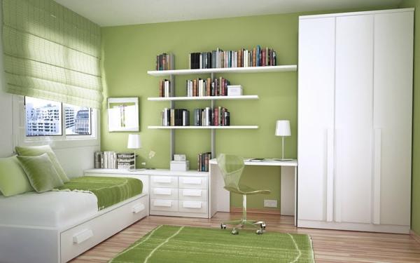 wandgestaltung-grüne-farbtöne