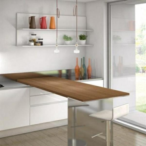 Klapptisch für küche  Wandklapptische - Funktionalität üben! - Archzine.net