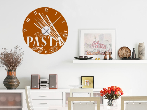 wanduhr-tattoo-wandtattoos-de-pasta-nudeln-orange
