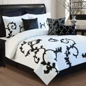 Bettwäsche in schwarz und weiß - 45 Ideen!