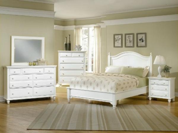 weiße schlafzimmermöbel | möbelideen, Schlafzimmer design