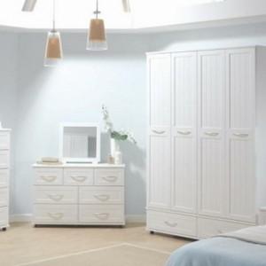 Schlafzimmermöbel in Weiß - 42 super Ideen!