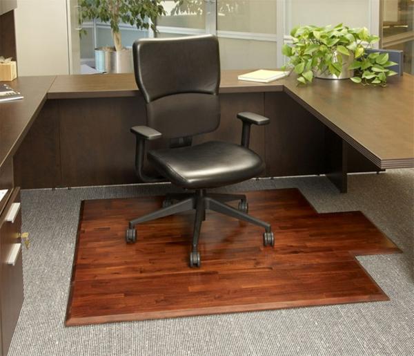 büro modern einrichten-schöner stuhl mit rollen