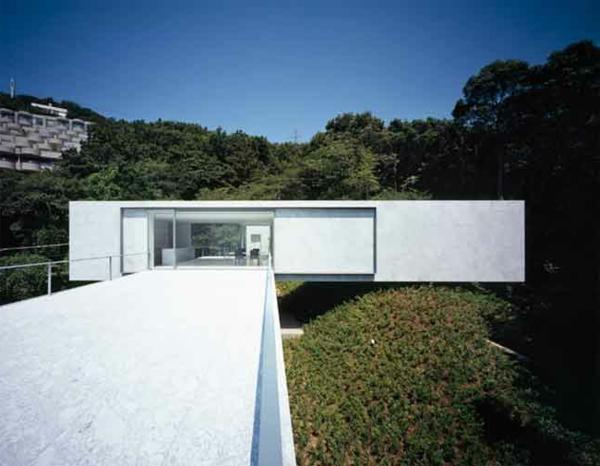 wunderschöne-idee-für-minimalistische-architektur-weiße farbe