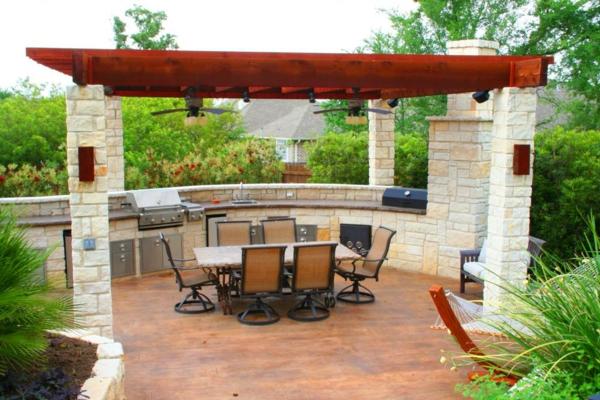 wunderschöne-outdoor-küche-Einmalig erscheinen