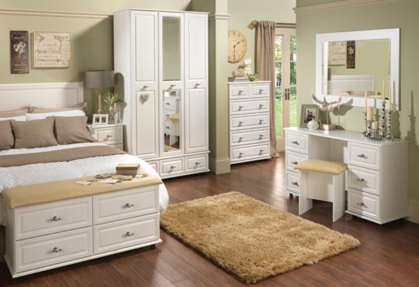 Schlafzimmermöbel in Weiß - 42 super Ideen! - Archzine.net