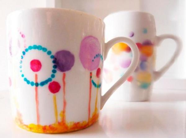 zwei-schöne-tassen-muttertagsgeschek-selber-basteln-modern und interessant