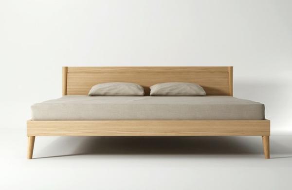 ausgezeichnet skandinavisches bett zeitgen ssisch das. Black Bedroom Furniture Sets. Home Design Ideas