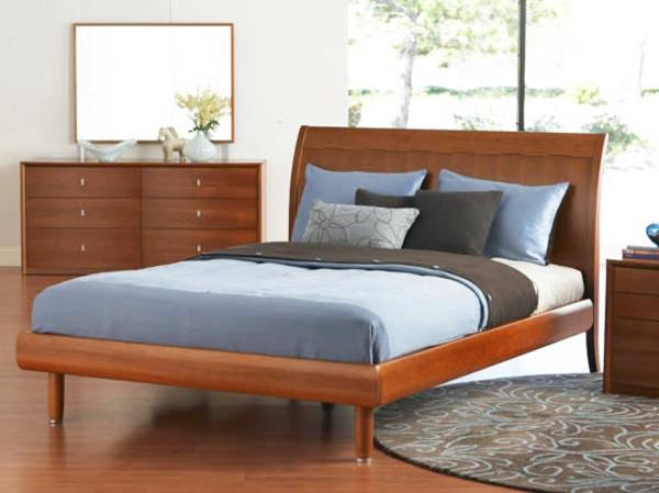 skandinavisches bett modell. Black Bedroom Furniture Sets. Home Design Ideas