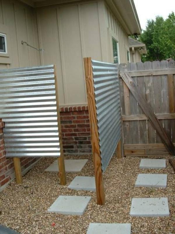 Dusche Selber Bauen Garten: Außendusche gartengestaltung ...