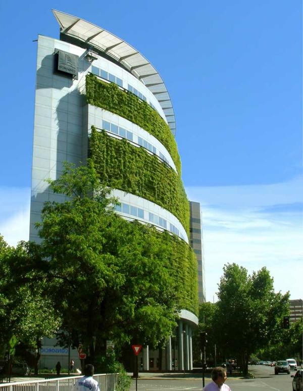 Farbbedeutung-Grün-gruenes-modernes-Design-für-grüne-Flächen