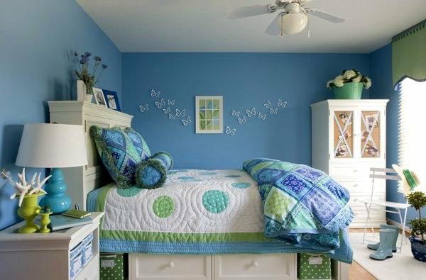 Farbideen für Wand - neue Erfrischung für jede Ecke in der Wohnung!